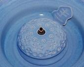"Cat Drinking Fountain, Pet Fountain, indoor fountain - Food safe, Ceramic - 10.25 Inch Diameter - ""Asterisk"""