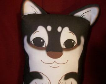Black Shiba Inu Pillow Pal