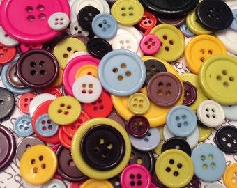ONE DOLLAR SALE Craft Button Assortment 25pcs