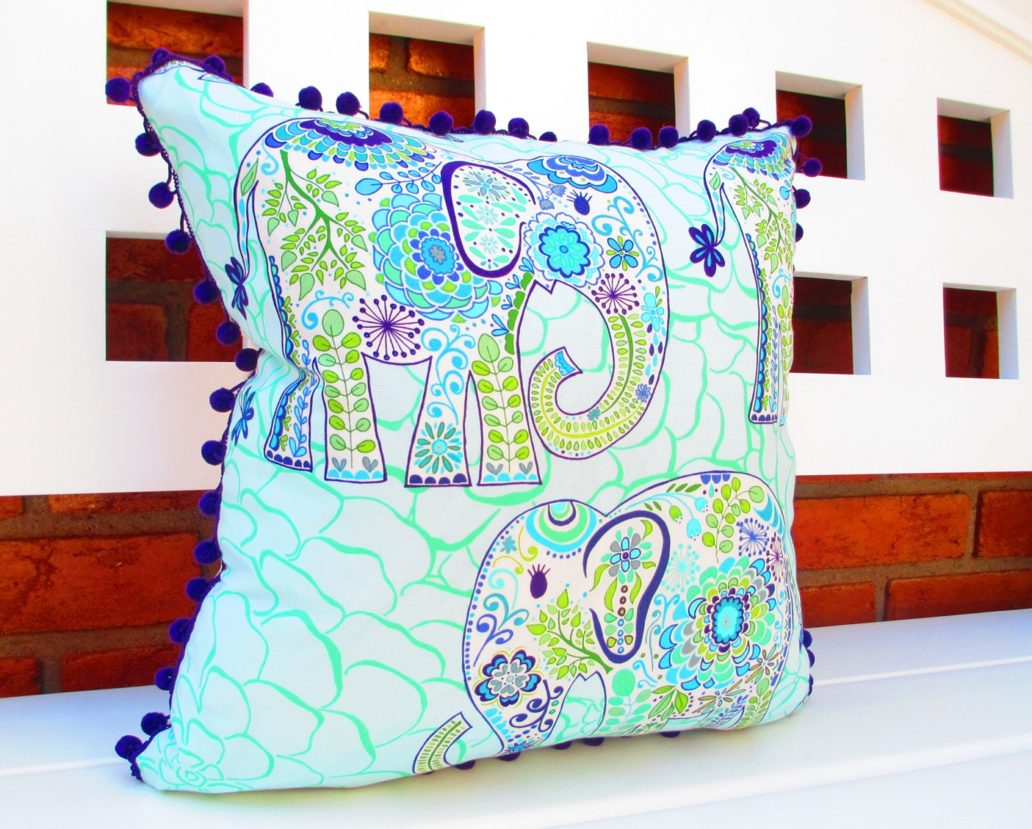 Room Decor For Teen Girls Bohemian Pillow Cover By