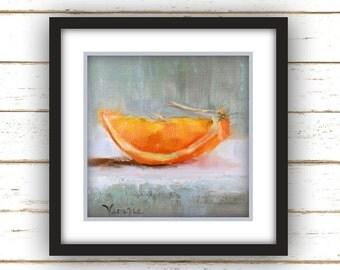Orange Slice - Art Print - Large Wall Art