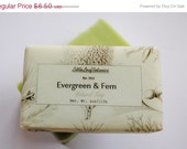 Forest Soap Cedar Soap with Shea Butter Evergreen and Fern