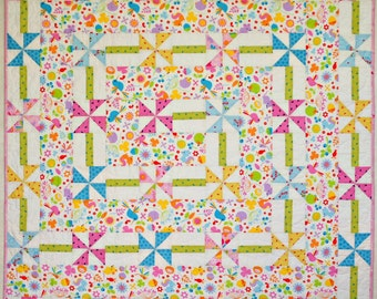 Daisy Chain PDF Quilt pattern - Immediate Download