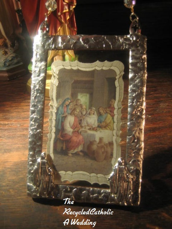 Catholic Wedding Gift For Groom : ... Gifts Guest Books Portraits & Frames Wedding Favors All Gifts