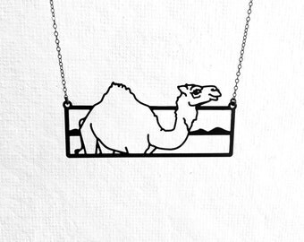NEW! Camel Necklace