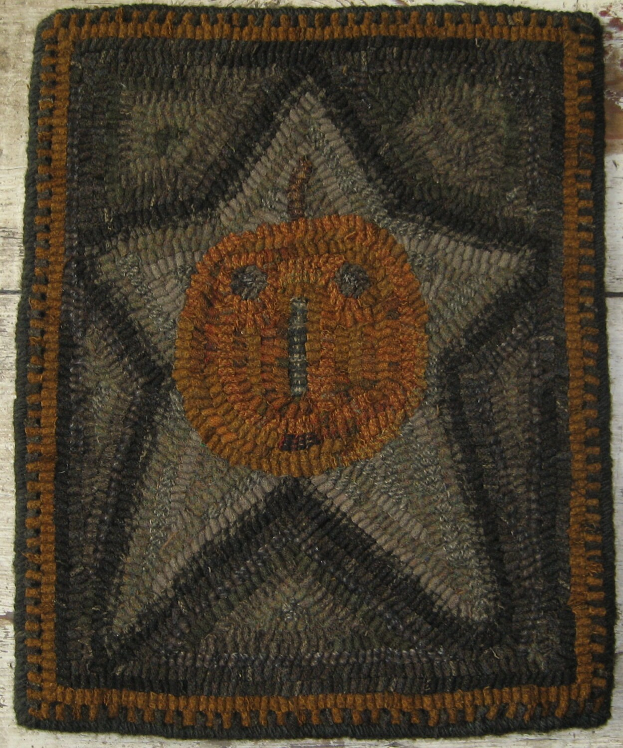 Primitive Rug Hooking Pattern-Star Jack