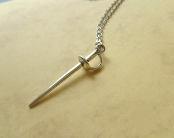 Sword necklace