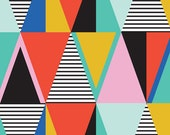 "Graphic Triangles - 16"" x 20"" art print"
