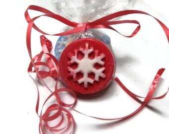 Snowflake Christmas Tart Melts | Soy Wax Tart Melts | Aromatherapy Wax Melts | Tart Wax Melts | Christmas Candle Melts | Home Fragrance