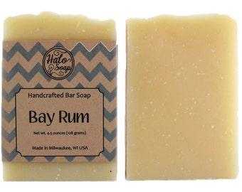 Bay Rum Bar Soap - Vegan - Bay, Lime and Orange