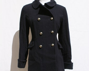 1950's Vintage Woman's Pea Coat