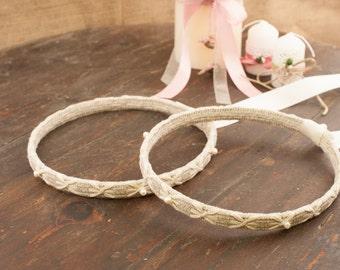 STEFANA Wedding Crowns - Orthodox Stefana - Bridal Crowns ISLAND - One Pair