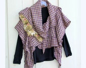 One Size Fits All Scarf/Shawl/Wrap/Vest/Sweater OOAK