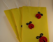 Custom Order For Emma ~ Ladybug Treat Bags ~ #24