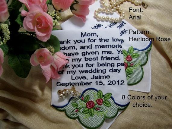 Romantic Wedding Gift For Bride : Romantic Bridal Wedding Gift Ideas-hankie design includes gift ...