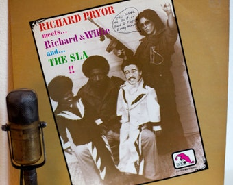 "Richard Pryor Vinyl Lp Record Album Vintage 1970s LIVE Comedy ADULTS Only XXX Party Record ""Richard & Willie""(1976 Laff Records)"