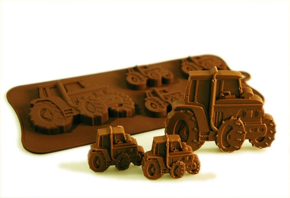 Tractor Cake Mould