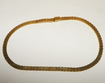 """Monet Signed Gold Chain 16"""""""