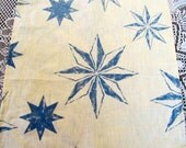 Napm1516E  Vintage Linen Cotton Set of Napkins, Set of 8 Napkins, Up Cycled