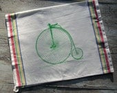 PennyFarthing/High Wheel bike Tea Towel