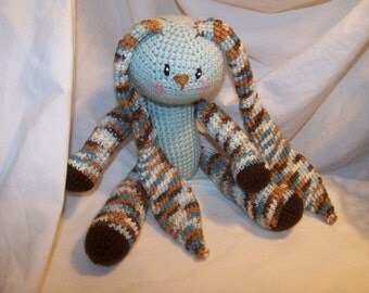 Cutest floppy crochet bunny rabbit Any colors you want