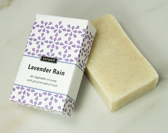 Lavender Rain All Vegetable Oil Soap