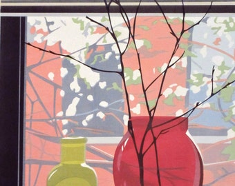 Change of Seasons, limited edition serigraph