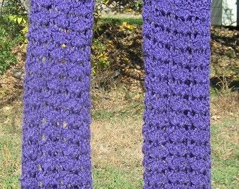 Arm Warmers Lacy Arm  Warmers Adult Women Purple