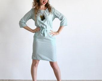 Clearance SALE/ Mint Pencil dress, Bridesmades dress/ Party dress