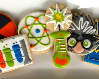 Mad Scientist in the Lab Sugar Cookie Collection