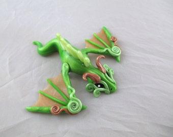 Green Dragon Pin