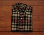 mens Ralph Lauren plaid flannel shirt