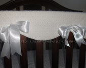 Minky Rail Guard Covers - Your Choice of Colors