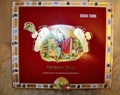 Cigar Box for Crafting - Red Box - Romeo Y Julieta - Reserva Real - Gran Toro - Empty Craft Box