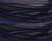 8MM Antique Royal Blue Foil RE3004H5, Flexible Tubing, Poly Mesh Supplies (10 Yards)