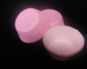 Pink Mini Cupcake Liners, Candy Cups, Mini Cupcakes, Candy Cups, Mini Baking Cups - Quantity 24