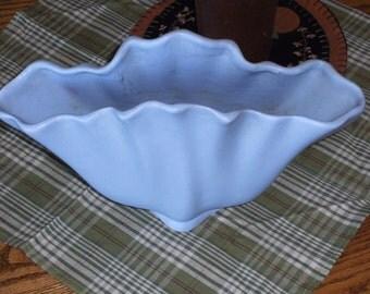 Vintage Blue Haeger Vase
