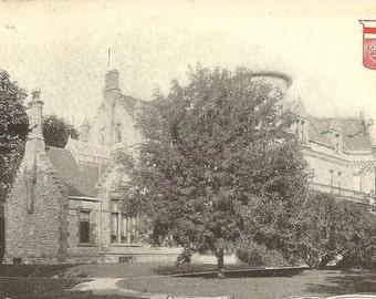 Antique Postcard Residence of J Stewart Tupper WINNIPEG Manitoba M Jaw and Cal RPO No 3 1906