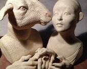Pre-Order: White Sheep & Alice in Wonderland Art Doll Kit 2015, Version 1