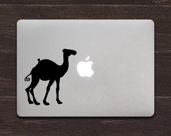 Camel Vinyl MacBook Decal BAS-0297