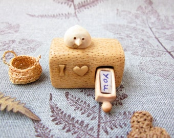 Personalized Gifts, I Love You miniature drawer, wood carving miniature, wood art, Valentines gift, minature art, Made to Order, unique gift