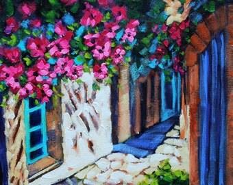 Art, Oil Painting, Artist Original Oil, Impressionism, Landscape painting, Flower art by Rebecca Beal