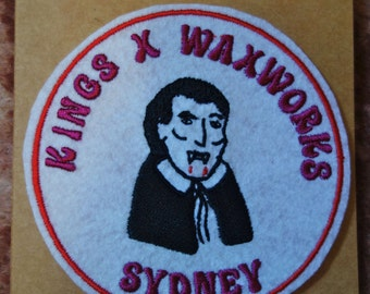 Kings Cross Waxworks Patch by the Felt Underground in the Lost Sydney series by Vanessa Berry