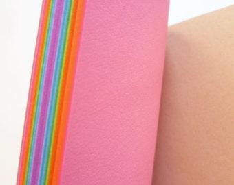 Traveler's Notebook, Regular Size, PLAIN, Rainbow