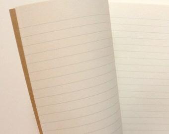 Traveler's Notebook, Passport Size, LINED, Ivory