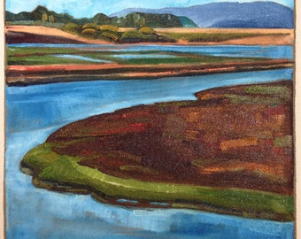 Tomales Bay - Original Painting