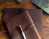 StMarks iPad case, handmade leather iPad sleeve, leather tablet case, custom leather cases, covers, sleeves and bags by Aixa Sobin, maker