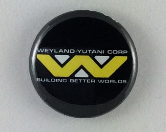 "1"" Button - Weyland-Yutani"