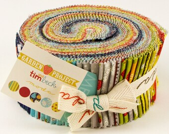 Garden Project - Jelly Roll by Tim & Beck for Moda Fabrics