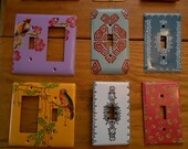Hand Painted Light Switch Covers